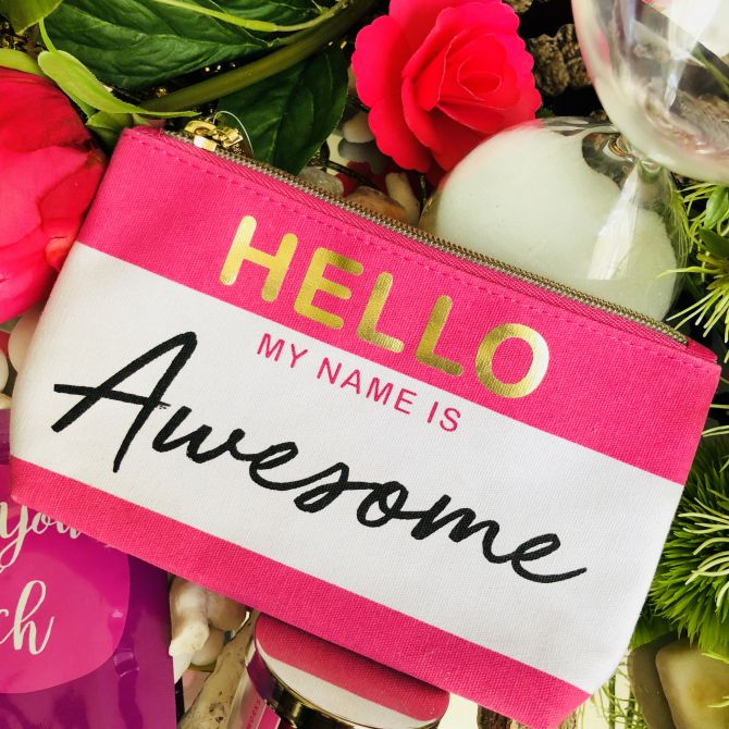 """HELLO MY NAME IS AWESOME"""