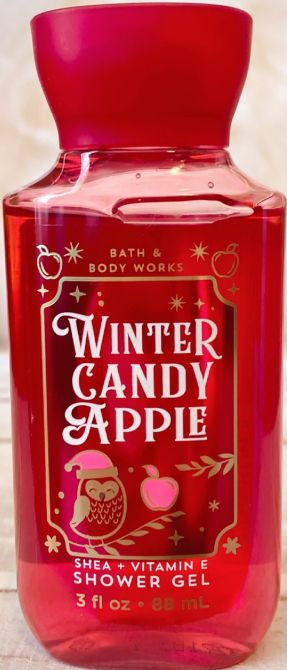 "ДУШ ГЕЛ ЗА ТЯЛО TRAVEL SIZE ""WINTER CANDY APPLE"""
